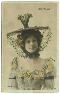 Norette May Real Photo Postcard c1910