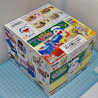 Miniatures Doraemon Happy School Lunch  Box Set - Re-ment   ,  #9ok