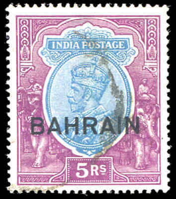 BAHRAIN Sc# 14 SG 14 Used Very Fine India Indian Postal Administration