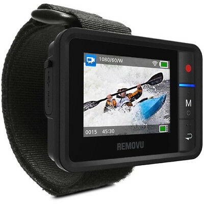 """REMOVU R1+Waterproof Wi-Fi Live View Remote for GoPro HERO3+4-5-6 RMR1P 2""""LCD"""