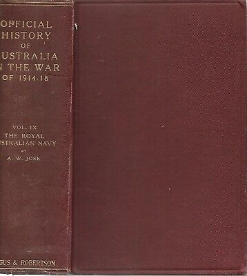 THE STORY OF ANZAC  -  VOLUME lX