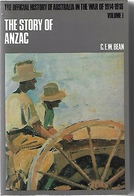 THE STORY OF ANZAC  -  VOLUME l