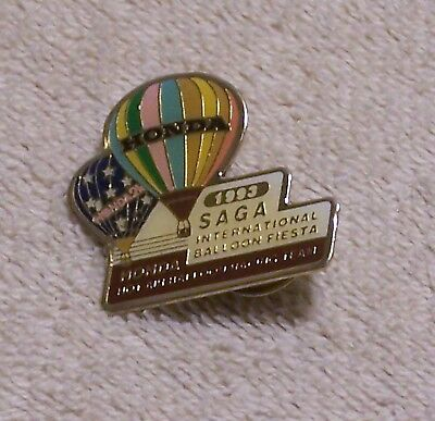1993 Honda Hot Air Balloon Racing Team Saga Int'l Balloon Fiesta Balloon Pin