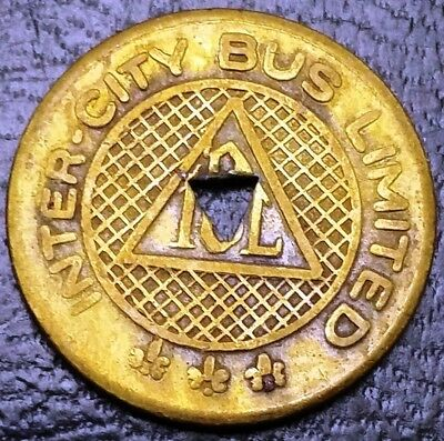 transit token Woming Valley Autobus Co. PA985D Wilkes Barre, Pennsylvania