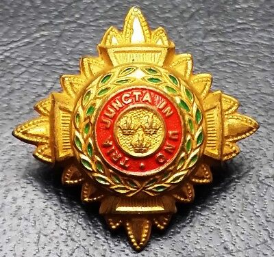 Royal Officer's Rank Star - Tria Juncta In Uno - Very Collectible