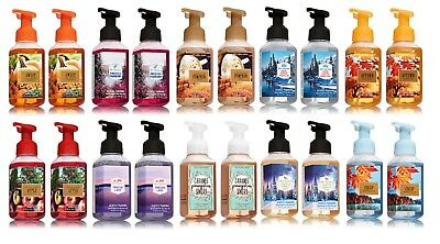 2 Bath and Body Works Gentle Foaming Hand Soap Set Autumn Winter - You Choose