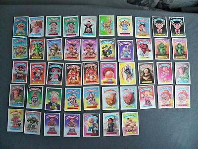 1985 Topps Garbage Pail Kids - Series Two - 47 Stickers - Lot #4