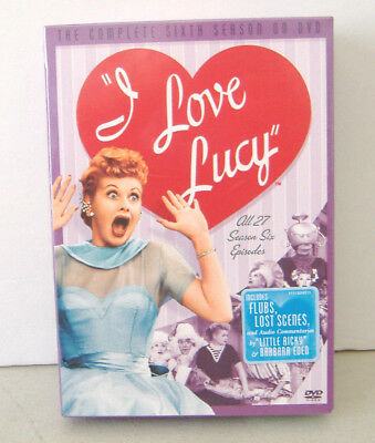 I Love Lucy - The Complete Sixth Season (DVD, 2006, 4-Disc