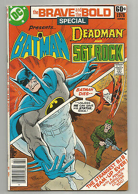 Brave And The Bold Special 1978 * Batman * Deadman * Sgt. Rock
