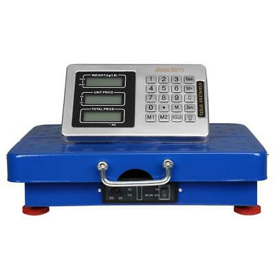 660lbs Weight Computing Digital Floor Platform Scale Postal Shipping Mailing