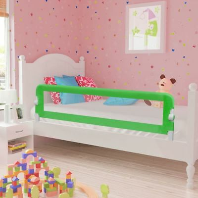 vidaXL Toddler Safety Bed Rail 150x42cm Green Baby Cot Protective Gate Guard