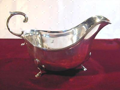 Silver Gravy Sauce Boat Art Deco Solid Sterling  3.65 Oz 1915