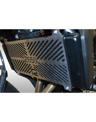 Kawasaki Z650 (2017-2018) Renntec Stainless Steel Radiator Guard Cover Shield