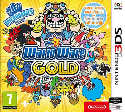 Warioware Gold (3DS)  BRAND NEW AND SEALED - IN STOCK - QUICK DISPATCH