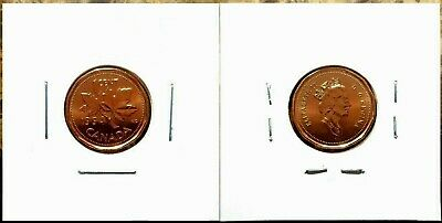 Canada 1994 Small Cent UNC MS Gem BU!!