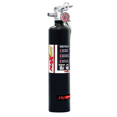 H3R Performance MX250B Fire Extinguisher MaxOut Dry Chemical 2-1/2 LB Black