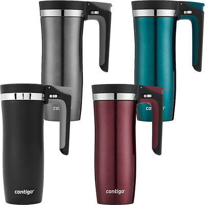 Contigo 16 oz. Autoseal Vacuum-Insulated Stainless Steel Handled Travel Mug