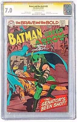 Brave And The Bold 85 Cgc 7.0 1969 Neal Adams Signed Green Arrow's New Costume