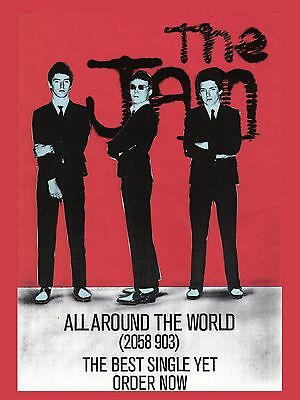 """The jam all around the world 16"""" x 12"""" Photo Repro Promo Poster"""