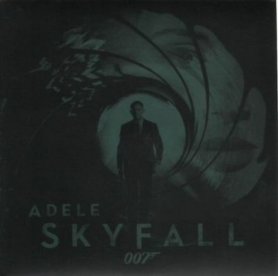 Adele Skyfall - 007 Jamwes Bond Song Vinyl Single 7inch NEAR MINT XL Recordin
