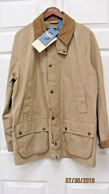 Barbour Ashby Midas Jacket Waterproof Lightweight & Breathable Men's L