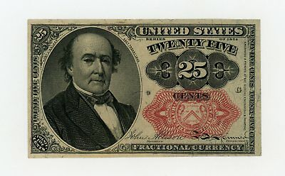 5th Issue Fr.1309 25c United States Fractional Currency Note AU