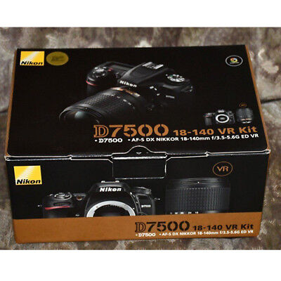 Nikon D7500 with AF-S DX 18-140mm f/3.5-5.6G Kit (Multi) ship from EU Nuevo