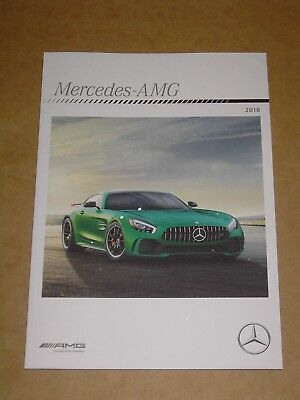 2018 Mercedes Benz Amg Performance Brochure 64 Pages Mint! All Amg Models