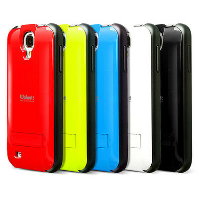 For Samsung Galaxy S IV 4 S4 Zenus Stand Jacket Hard Case Cover+Screen