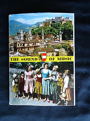 THE SOUND OF MUSIC 12 Page Postcard Booklet COMPLETE/UN-USED 1965 Mint Condition