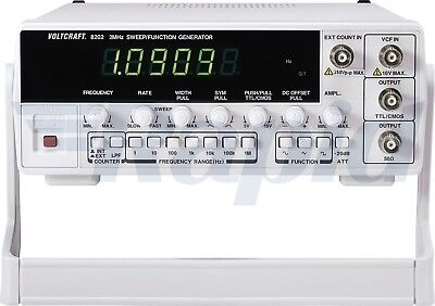 Voltcraft 8202 Function and Frequency Generator