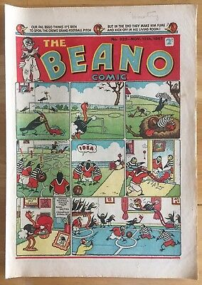 THE BEANO COMIC NOV 15th 1947 LORD SNOOTY PANSY POTTER FINE