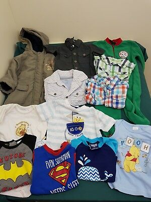baby boy bulk size 0 clothes lot wiinie the pooh pumpkin patch dymples etc