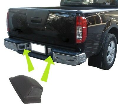 Rear bumper License plate for Nissan Navara D40 pickup number lamp holder light