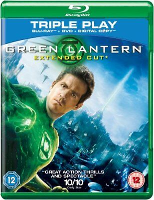 Green Lantern (Extended Cut) - Triple Play (Blu-ray + DVD + Digita... -  CD 8KVG