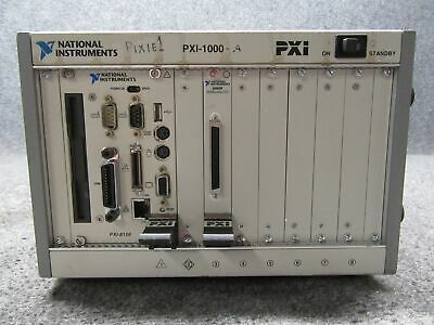 National Instruments NI PXI-1000 8-Slot Chassis w/ PXI-8156 Drive & I/O 6040E