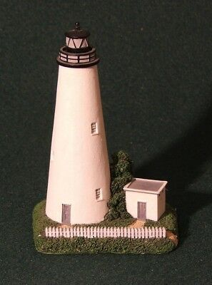"""OCRACOKE ISLAND, NC - Lefton's Historic American Lighthouse Collection - 5"""" tall"""