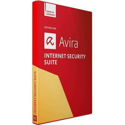 AVIRA Internet Security Suite 2018 5 PC Device  - Download Global Key
