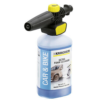 KARCHER K2 K3 K4 Snow Foam FJ10 C Jet Nozzle + Car & Bike Ultra Foam Cleaner Kit