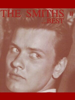 "The Smiths THE  BEST OF TWO 16"" x 12"" Photo Repro Promo  USA Poster"