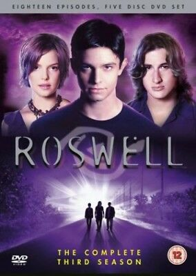 Roswell - Season 3 [DVD] [2000] -  CD 38VG The Fast Free Shipping