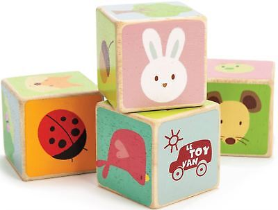 Le Toy Van PETILOU LITTLE LEAF BLOCKS Educational Wooden Activity Baby BN