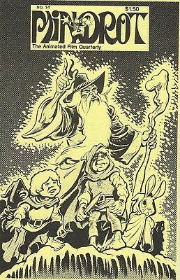 Mindrot: Animated Film Quarterly #14 May 1979 Lord Of The Rings Watership Down