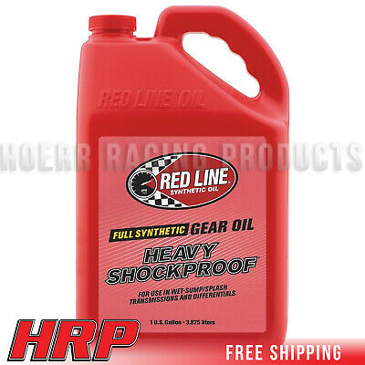 Red Line 58205 Heavy ShockProof Gear Oil - 1 Gallon - Pack of 4