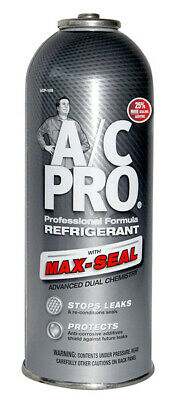 A/C PRO ACP105 Professional Formula R134a Ultra Synthetic  W / Leak Sealer 12 oz