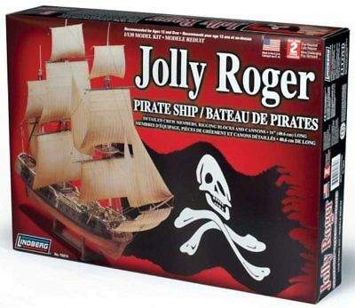 Jolly Roger Pirate Ship 1/130 Scale Skill 2 Lindberg#70874