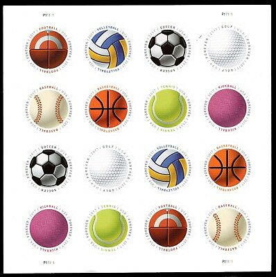 Sc 5203-5210 Have A Ball Forever Stamps Sheet