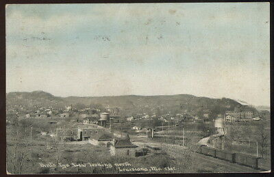 1913 Picture Pc, Bird's Eye View Looking North, Louisiana, Mo.