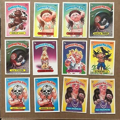 GARBAGE PAIL KIDS SERIES 4 Lot of 55 Cards  1986   No duplicates