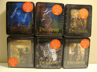 Lord of the Rings Action Flipz set of 6 tins